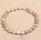 vitelline stone necklace