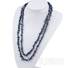 irregular sodalite necklace