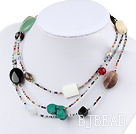 multi-gem necklace