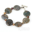 7 inches India gate bracelet with toggle clasp under $5