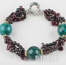 favourite garnet and phoenix stone bracelet