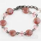 Classic Design Strawberry Crystal Quartz Bracelet with Lobster Clasp under $ 40