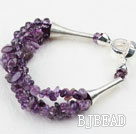 New Design Diverse Amethyst Armband