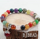 Assorted multicolor multi Stretch Pulsera P...