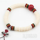 White Corozo Nut Prayer Bracelet