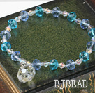 sellable czech crystal elastic bracelet
