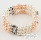 classic 6-7mm pearl elastic bangle