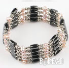 3-4mm pearl magnetic bracelet