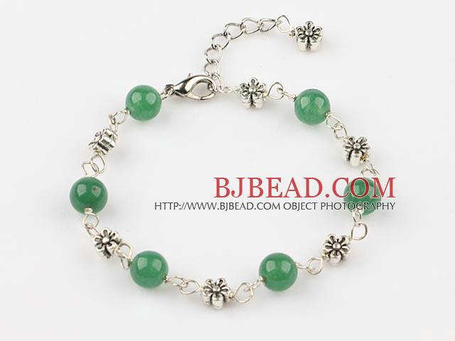 179d3b56acdd pulsera de perlas con cadena extensible aventurina