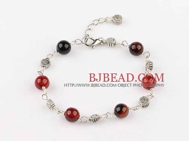 04f08cf765b1 ágata pulsera de fantasía con la cadena extensible