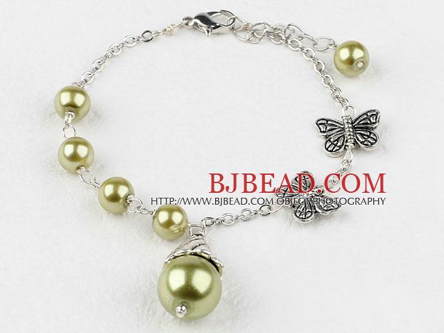 1a53d6ec5635 pulsera de perlas con cadena arcylic extensible