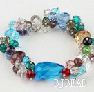 multi-color crystal bracelet