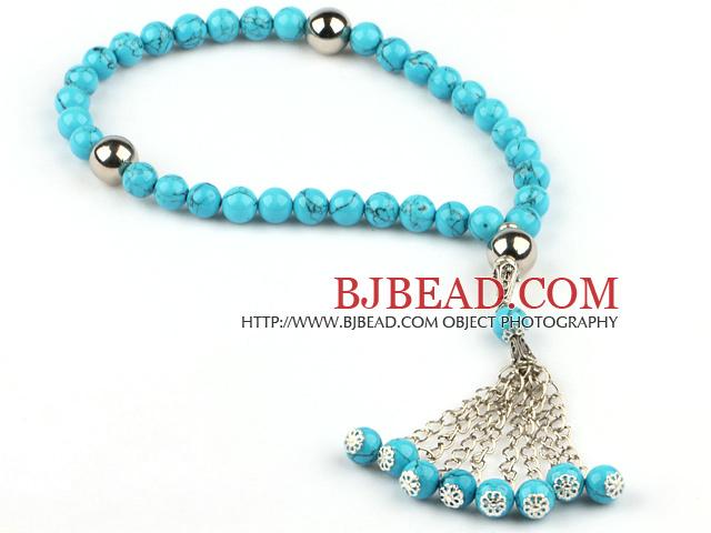 Turquoise Prayer beaded Bracelet