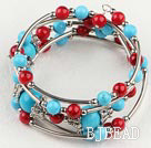 turquoise and alaqueca bracelet
