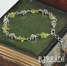 fashion peridot bracelet