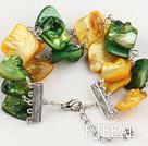 multicolor shell bracelet under $ 40