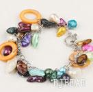 pearl shell bracelet under $ 40