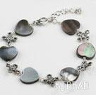 black lip shell bracelet