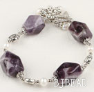 pearl amethyst bracelet