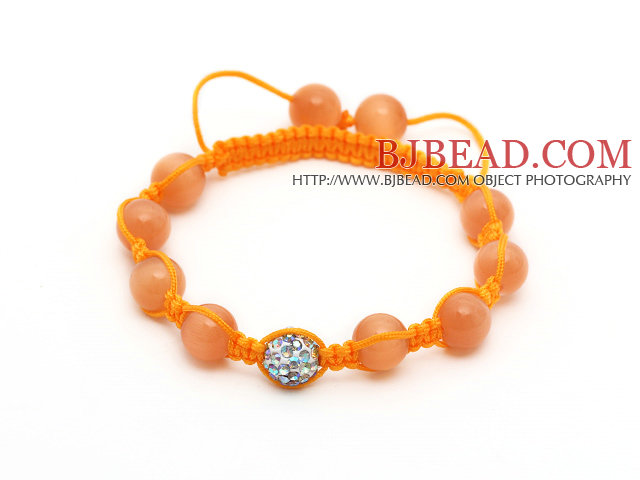 5 PCS colorful acrylic manmade pearl bangle