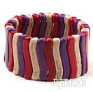 Bold Style Multi Color Turquoise Elastic Bangle Bracelet