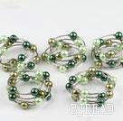 Acrylic manmade pearl bracelet