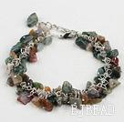 seven colored multi stone bracelet