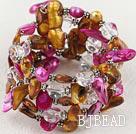 pearl crystal bracelet