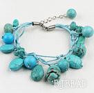 Classic design turquoise bracelet under $ 40