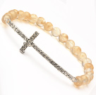 Austrian synthetic pearl bracelet