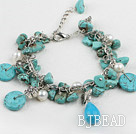 turquoise pearl bracelet under $ 40