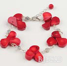 coral bracelet under $ 40