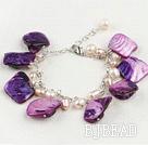 shell pearl bracelet