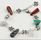 multicolor rock  bracelet