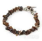 tiger eye bracelet with toggle clasp