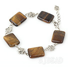 tiger eye bracelet with extendable chain