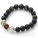 Fashion Style Dark Blue Colored Glaze Charm Bracelet under $ 40