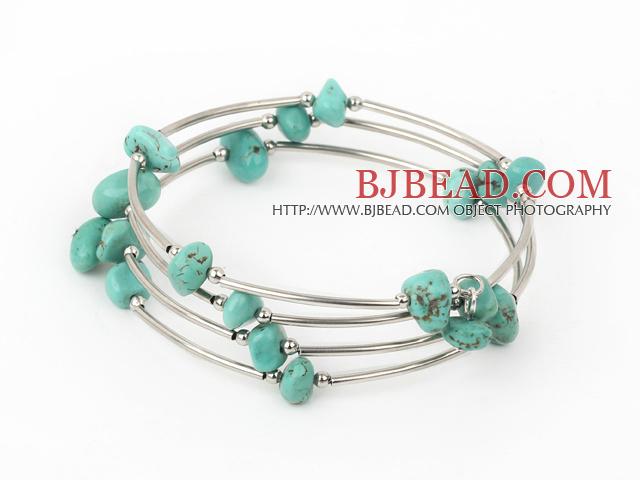 8-12mm turquoise bangle/bracelet