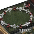 children' jewelry czech crystal elastic bracelet