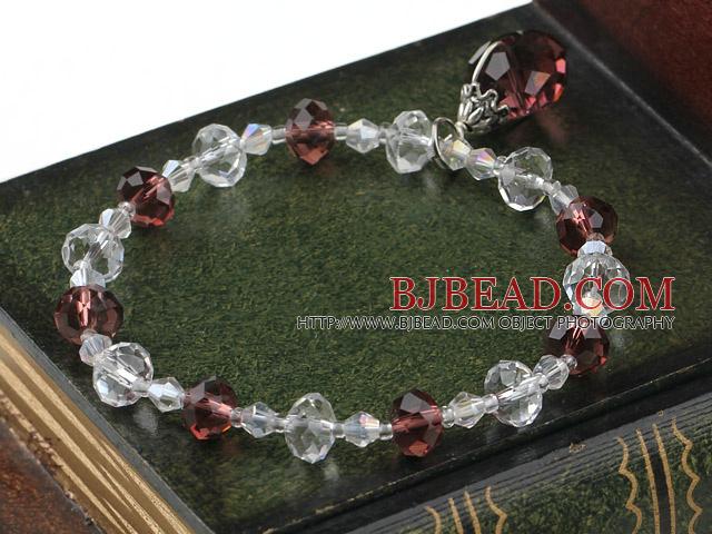children' jewelry czech crystal elastic bracelet