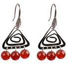 12 Pairs Multi Color Skull Shape Rhinestone Studs Earrings ( Total 12 Pairs )