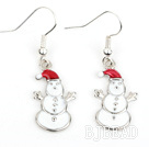 Fashion Style Snowman Shape Xmas/ Christmas Earrings under $ 40