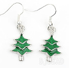 Fashion Style Xmas / Christmas Tree Form Charm Øreringe