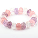 Pink serien Natural Rose Quartz og ametyst ...