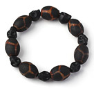 Nice Ancient Natural Tibetan Agate Rosary Beads Bracelet