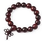 Moda Amuleto Laos Rosewood pulsera de los granos , los amantes de la pulsera