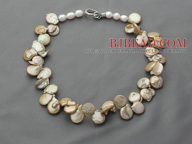 Soltero strand amarillo marr n color irregular shape for Pandora jewelry amarillo tx