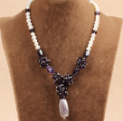 2013 Summer New Design Multi Layer Red Coral and Natural Smoky Quartz Necklace under $ 40