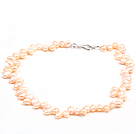 Special Design Natural Pink Freshwater Pearl Necklace