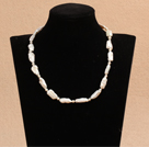 Best Mother Gift Graceful Natural White Rebirth Pearl Party Necklace